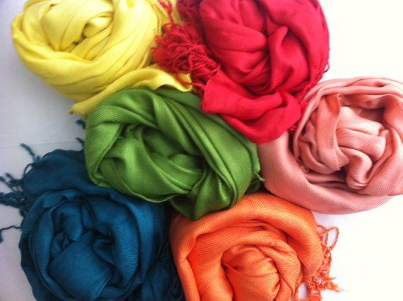 : Bridesmaid Shawl, Wedding Favors, Bridal Shawl, Pashmina Scarfs, Bridesmaid Gifts, Wedding Colors, Bridal Shower, Bridal Parties, Scarfs Pashmina Shawl