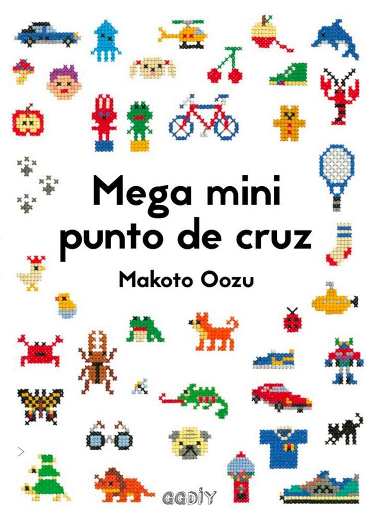 El producto Mega mini punto de cruz por Makoto Oozu lo vende Duduá en nuestra tienda Tictail.  Tictail te permite crear gratis bonitas tiendas en línea - tictail.com