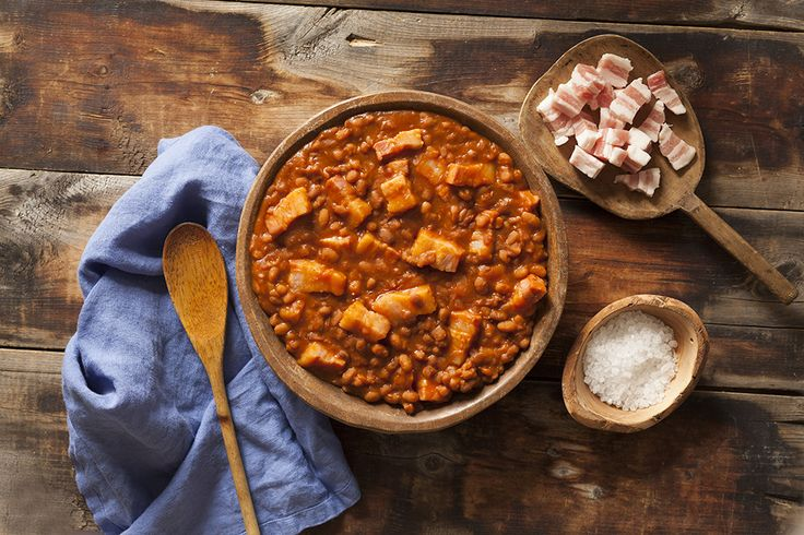 Make the most scrumptious pork and beans with Capital Cured Salt Pork! You just can't go wrong with that.