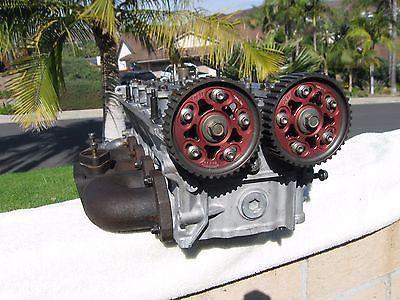 97-01 Honda Prelude H22A H22 VTEC engine cylinder head ported & polished AEM AAM