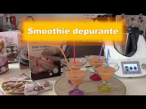 Smoothie depurante con lo zenzero - YouTube