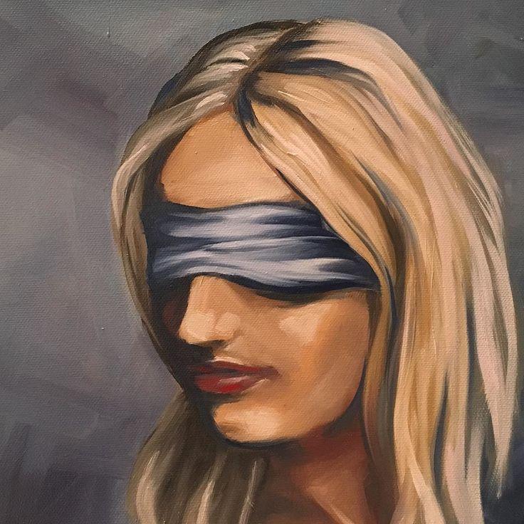 Sunday night sketch #oilpaint#portrait#sketch