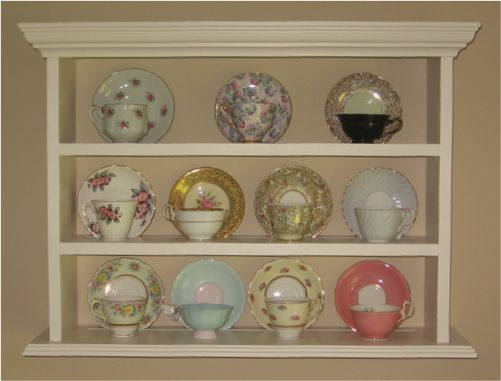 Would love something like this to display my grandmother's teacups