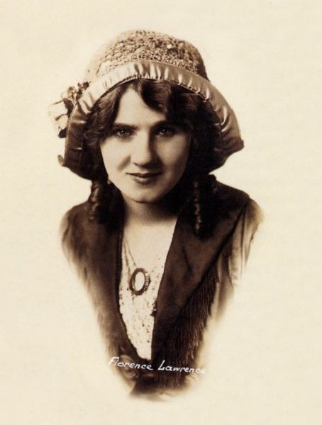 silent film actress Florence Lawrence
