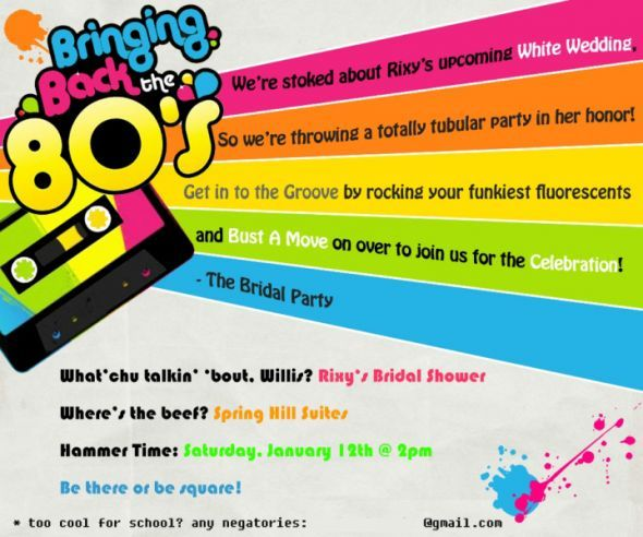 224 best images about 80s Party theme food decorations etc on – 80s Party Invitation Template