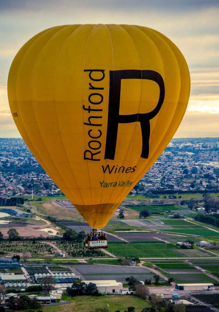 Rochford Wines - a top winery and our partner in the Yarra Valley...amazing wine!  #goglobal #globalballooning #melbourne #yarravalley #seeaustralia #visitvictoria #ballooning #balloonflights #ballooning #bucketlist #proposal #victoria #australia #gift #present #romantic #romance #views #wedding #serenity #sunrise #travelling #weather #rochford #wines