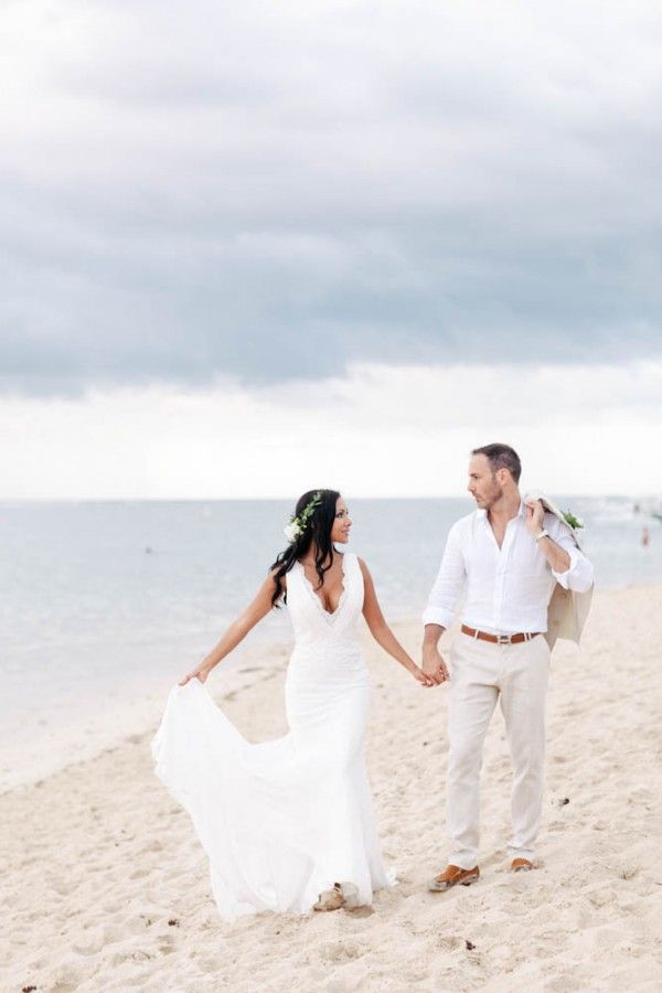 Glamorous Beach Wedding in Mauritius                                                                                                                                                                                 More