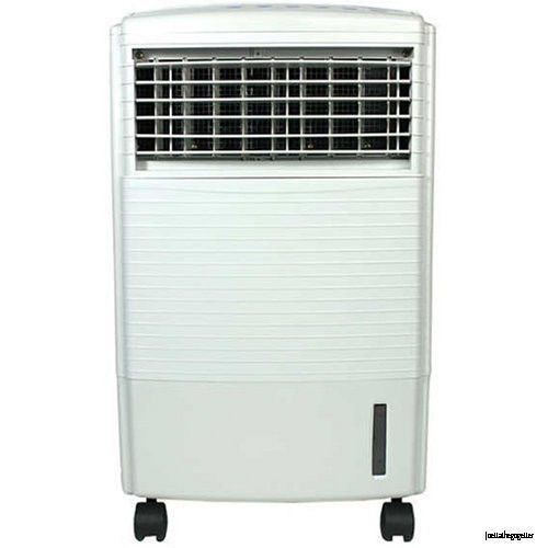 This Evaporative Air Cooler, Humidifier, and Fan with Ionizer is versatile, lightweight and economical. The Cooler easily rolls from room to room for use anywhere in your house or office