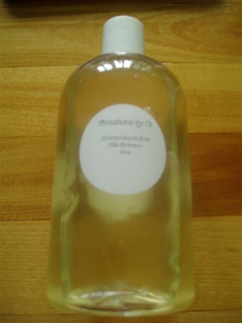 Silk Protein Shampoo - 8oz bottle