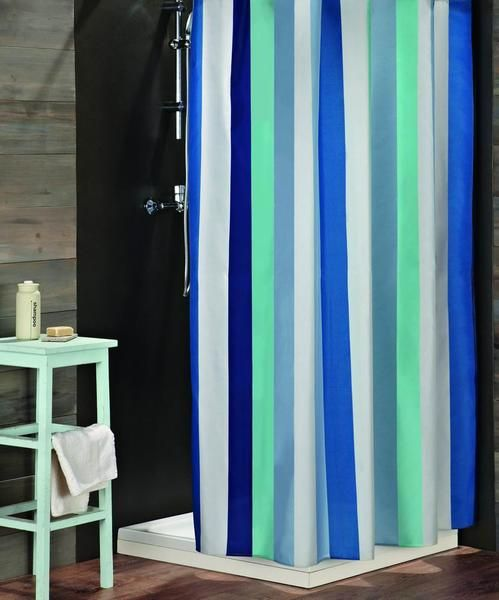 Multi Stripes. Shower Curtain FREE SHIPPING - DecoBuster
