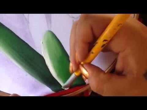 Pintura en tela funda para licuadora # 1 con cony