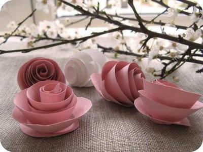 Paper Apple Blossoms