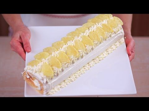 ROTOLO AL LIMONE FATTO IN CASA DA BENEDETTA Ricetta Facile - Lemon Cake Roll Easy Recipe - YouTube