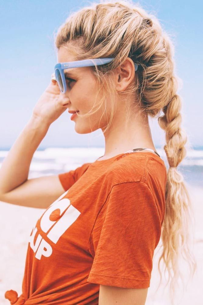 21 Stunning Summer Hairstyles For You To Try Our Ideas Of Summer Hairstyles Will Save You From Hot Weath Long Braided Hairstyles Hair Styles Summer Hairstyles