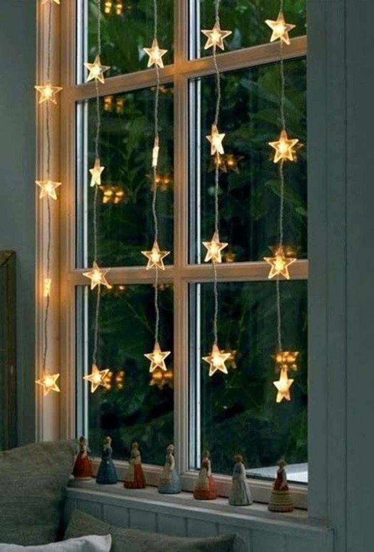 Deco De Noel Lumineuse Pour Fenetre noël : 25 bonnes idées pour décorer les fenêtres | guirlande