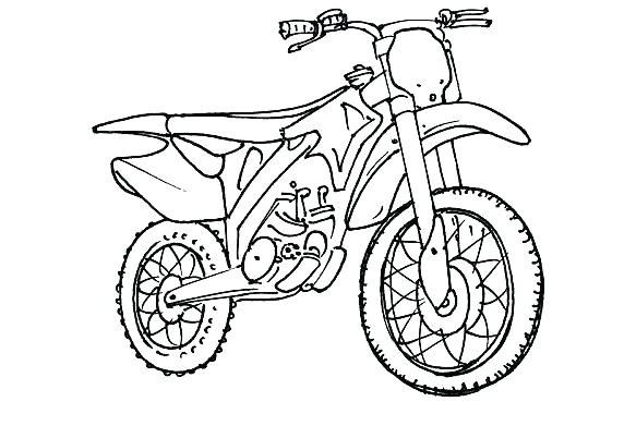 8 Interessant Coloriage Moto Cross Photos Coloriage Moto Coloriage Coloriage Kawaii