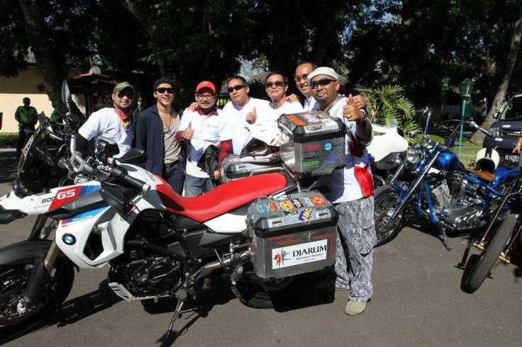 Yogyakarta with Nugie and bikers legend.....