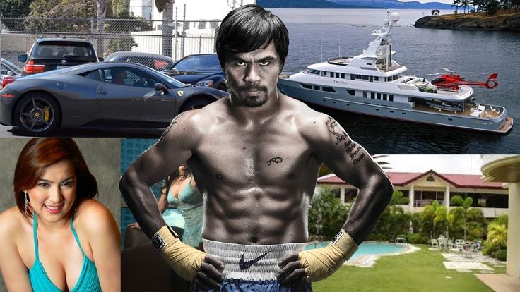 Manny Pacquiao Net Worth ✦ Biography ✦ Spouse ✦ Girlfriends ✦ Mansions ✦...