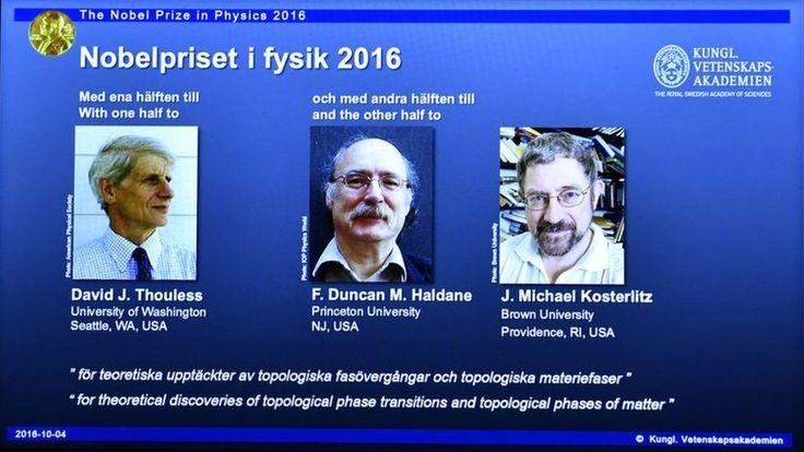 Strange matter wins physics Nobel - BBC News