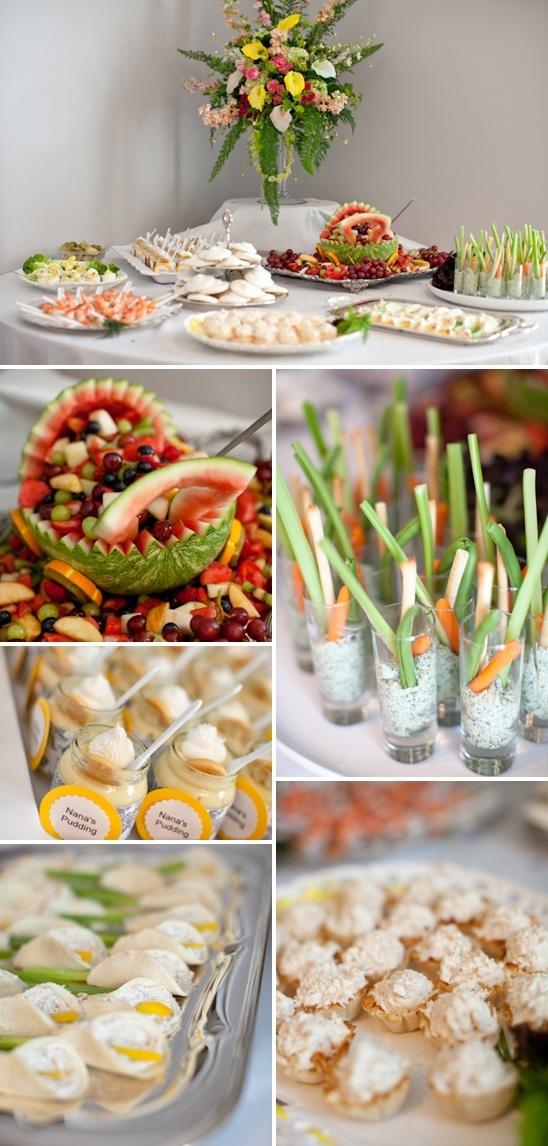 Party buffet idea
