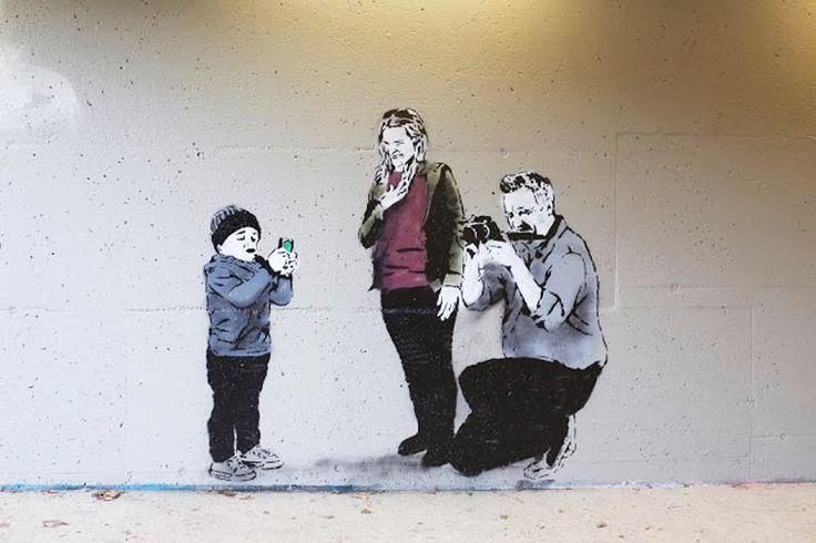 Street Art – L'artiste iHeart s'offre une exposition sauvage à Vancouver | Ufunk.net