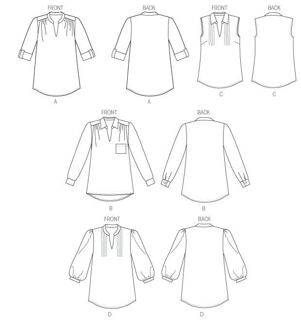 Line Art Butterick B5997 Top