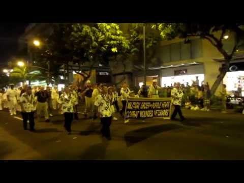 #37 США Гавайи Гонолулу Парад в память о погибших в Перл Харбор - YouTube