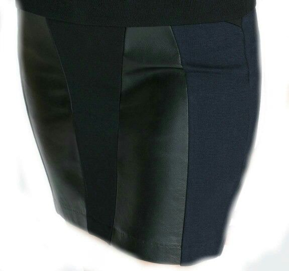 Fusta ZARA Black Leather ! Mai multe articole Zara aici: https://m.facebook.com/Millinery.Boutique