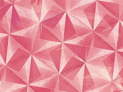 pink triangle pattern