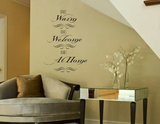 37 best Wall sayings images on Pinterest | Vinyl wall decals, Vinyl ...