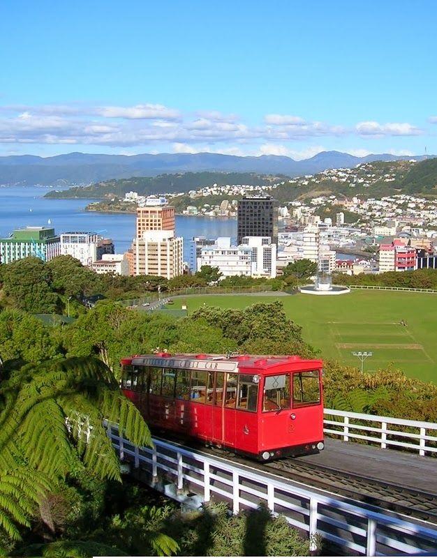 New Zealand - Wellington, New Zealand: