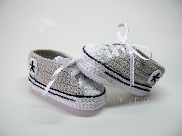 154 best Crochet - Baby images on Pinterest | Slippers, Baby shoes ...