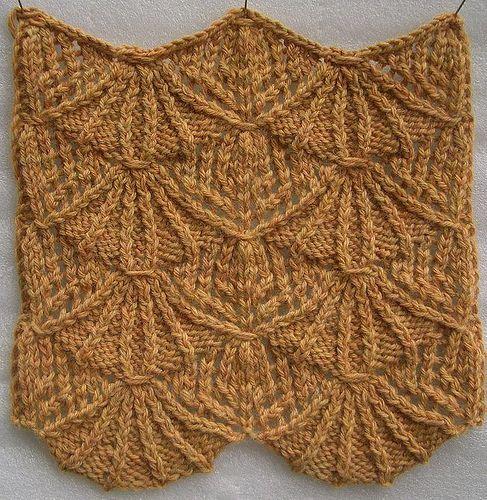 36 best images about Shell Knit Stitch Patterns on Pinterest Free pattern, ...