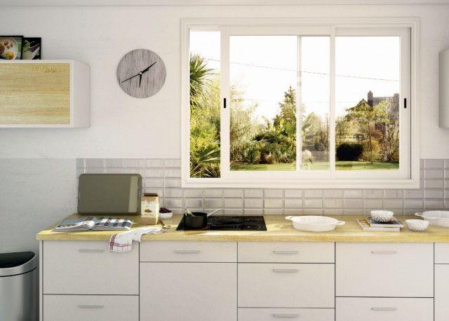 cuisine aluminium affordable cuisine aluminium with. Black Bedroom Furniture Sets. Home Design Ideas