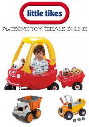 Page updated weekly! Find Brand name: Little Tikes  Toys on sale for as much as half price (1/2) 50% off or more. Great Savings on your pocket books #litle #tikes  #toys, Canada