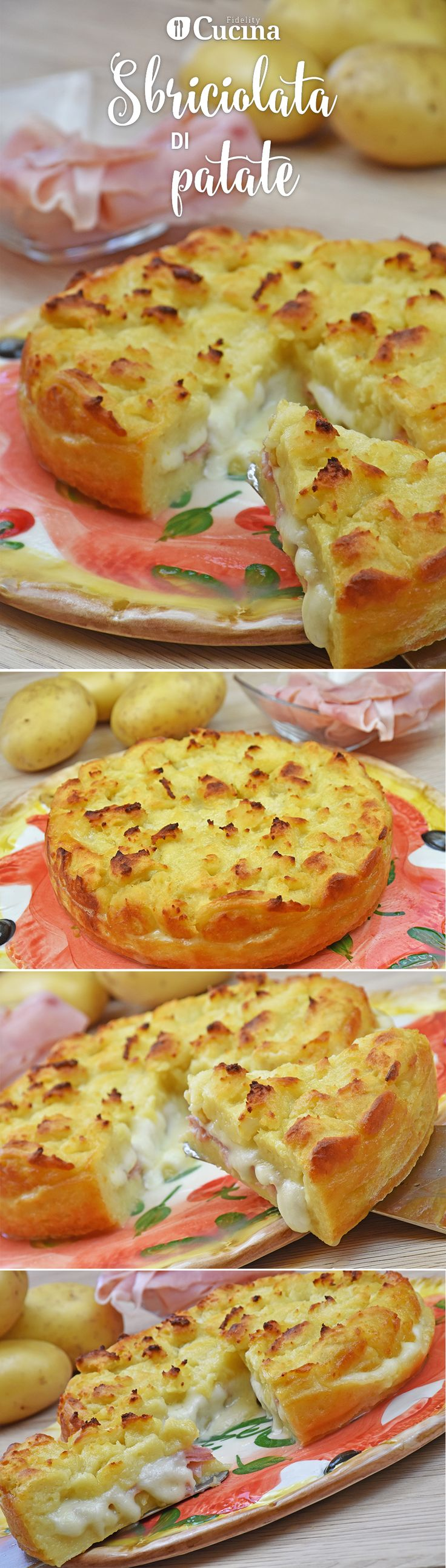 La #sbriciolata di #patate è una variante salata della classica sbriciolata…