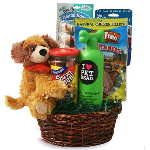 Dog Eat Dog World Pet Gift Basket Dog