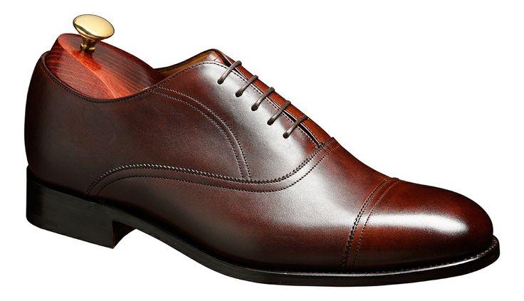 Barker Nevis Mens Classic leather oxford shoe http://www.robinsonsshoes.com/barker-nevis.html