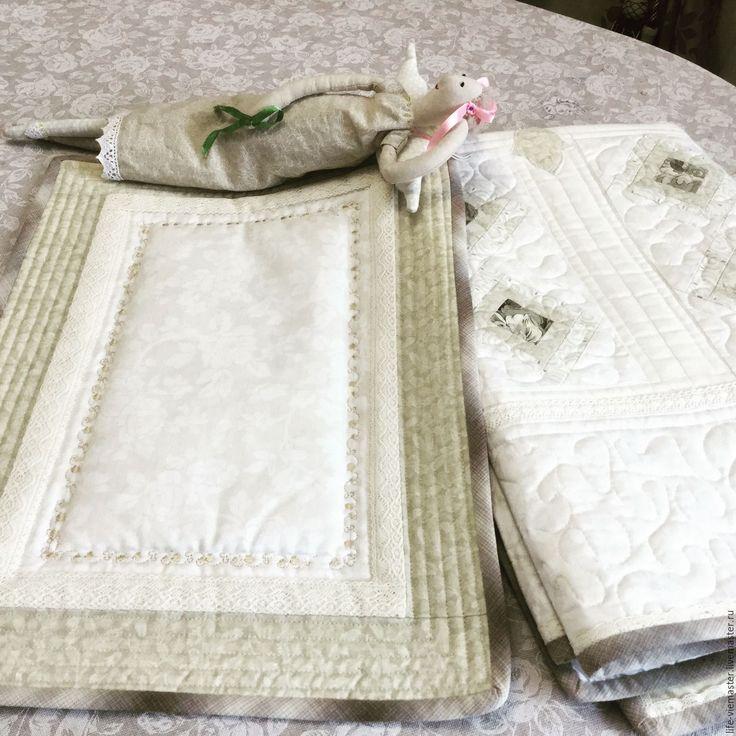 Купить Покрывало для младенца - комбинированный, одеяло для младенца, комплект на выписку, набор на выписку, постель для младенца