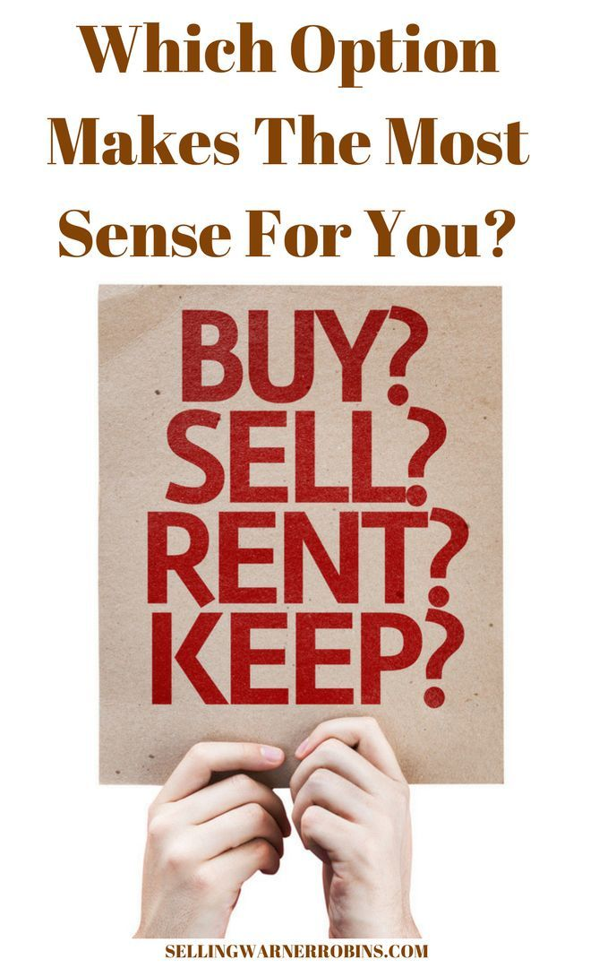 Should I Sell or Rent My Home REAL ESTATE Advice for Sellers