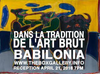 Box Gallery: Nelson Babilonia at the Box Gallery: Dans la tradi...