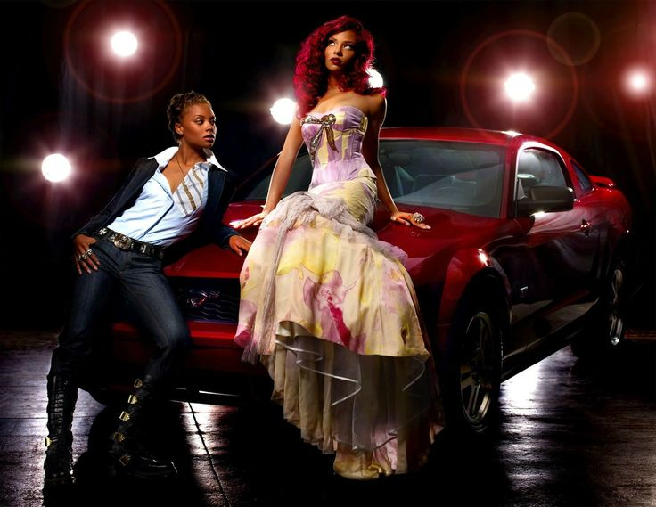 Eva: Cycle3; Photo Shoot 6 - Alter-Ego with Ford Mustang - ANTMworld