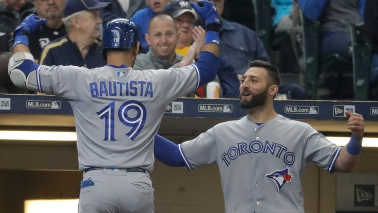 Genaro C. Armas   Ryan Goins left a strong impression in what might be his last game as the Toronto Blue Jays' regular shortstop. A grand slam could help Goins continue to get playing time once the injured Troy Tulowitzki returns to the lineup. Goins' sixth-inning grand slam was... - #Ball, #Baseball, #Blue, #Brewers, #CBC, #Jays, #Long, #Powered, #Sports, #Victory, #World_News
