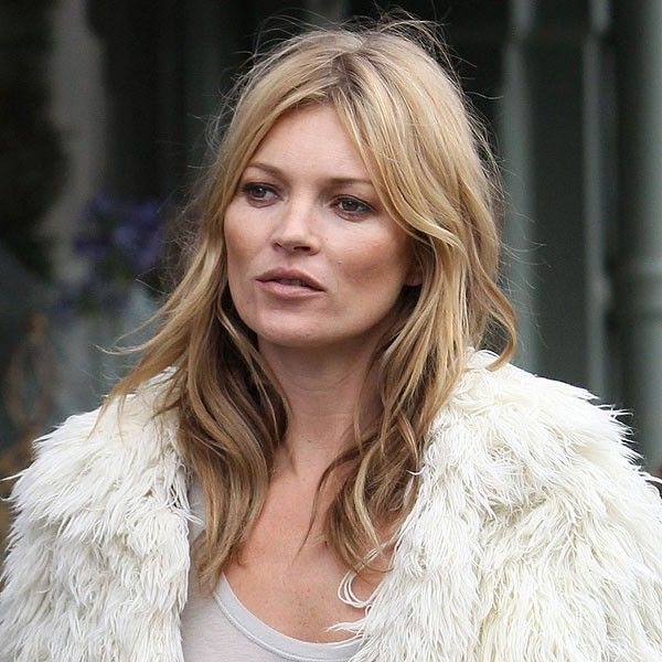 Kate Moss with Brigitte Bardot hair. Good way to transition/grow out bangs