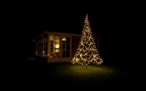 Kerstverlichting Buiten - Fairybell Buitenverlichting in de Vorm van een Kerstboom met Led Lampjes - MEER Kerstboomverlichting... (Foto Fairybell Verlichting  op DroomHome.nl)