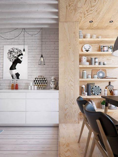 64 best Interior Design Theme images on Pinterest Home ideas - cuisine sejour meme piece