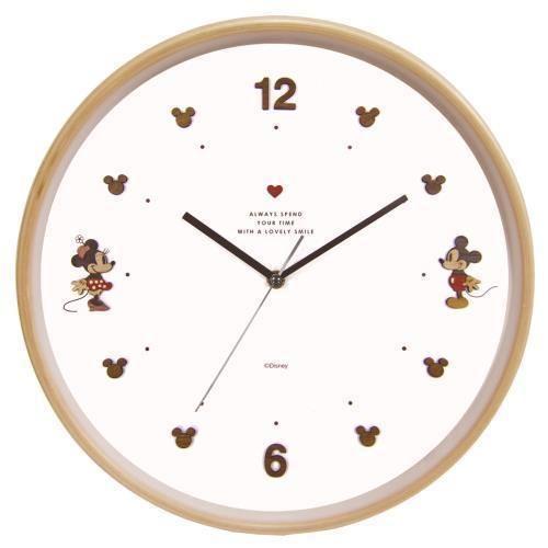 壁掛け時計 ディズニー ウッドパーツクロック|ホーム&キッチン ...