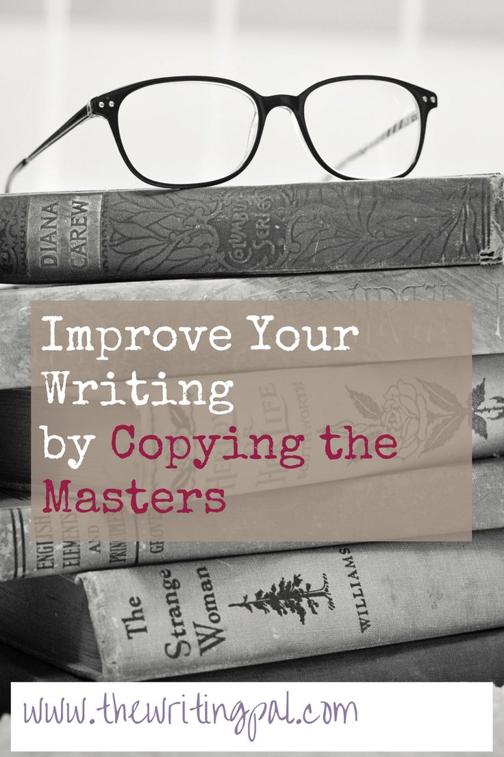 Copying hte masters is a great way to learn a new skill. If you are struggling with any element of writing, copying the masters can help you improve your writing.