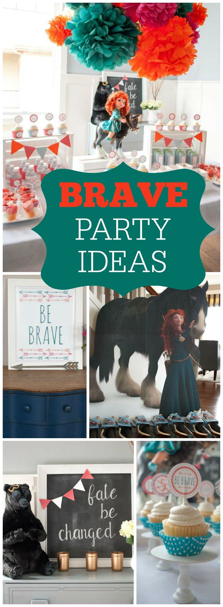 You have to see this fantastic Brave birthday party! See more party ideas at CatchMyParty.com!