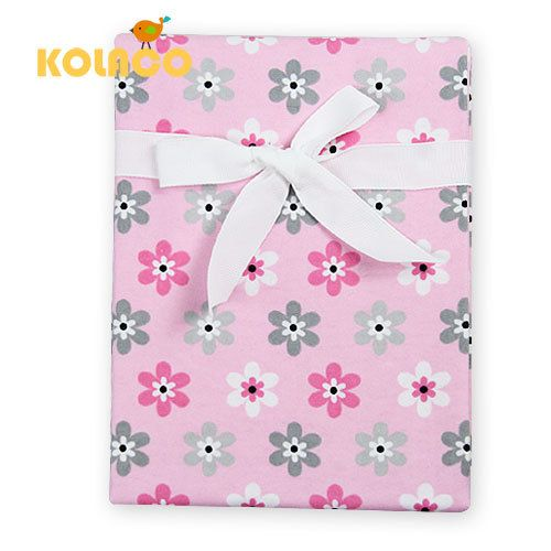 newborn swaddle baby bed sheet bedding set 120x72cm for newborn crib sheets cheap cot linen 100% cotton flannel blanket